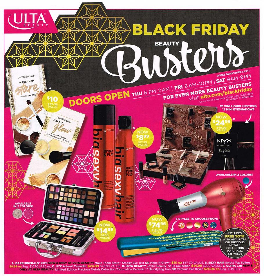 Ulta Black Friday 2017 Ads, Deals and Sales